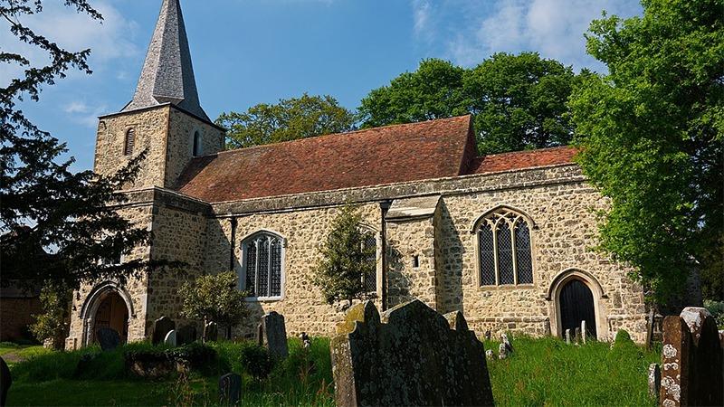 사진: 성당에도 유령들이 나타난다고 한다
