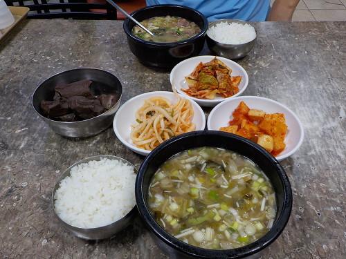 수원 해장국 맛집 유치회관