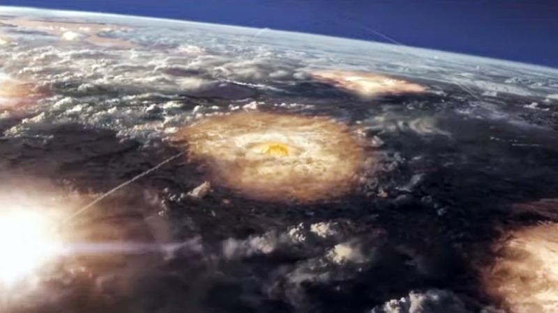 심판의 날 핵전쟁 장면