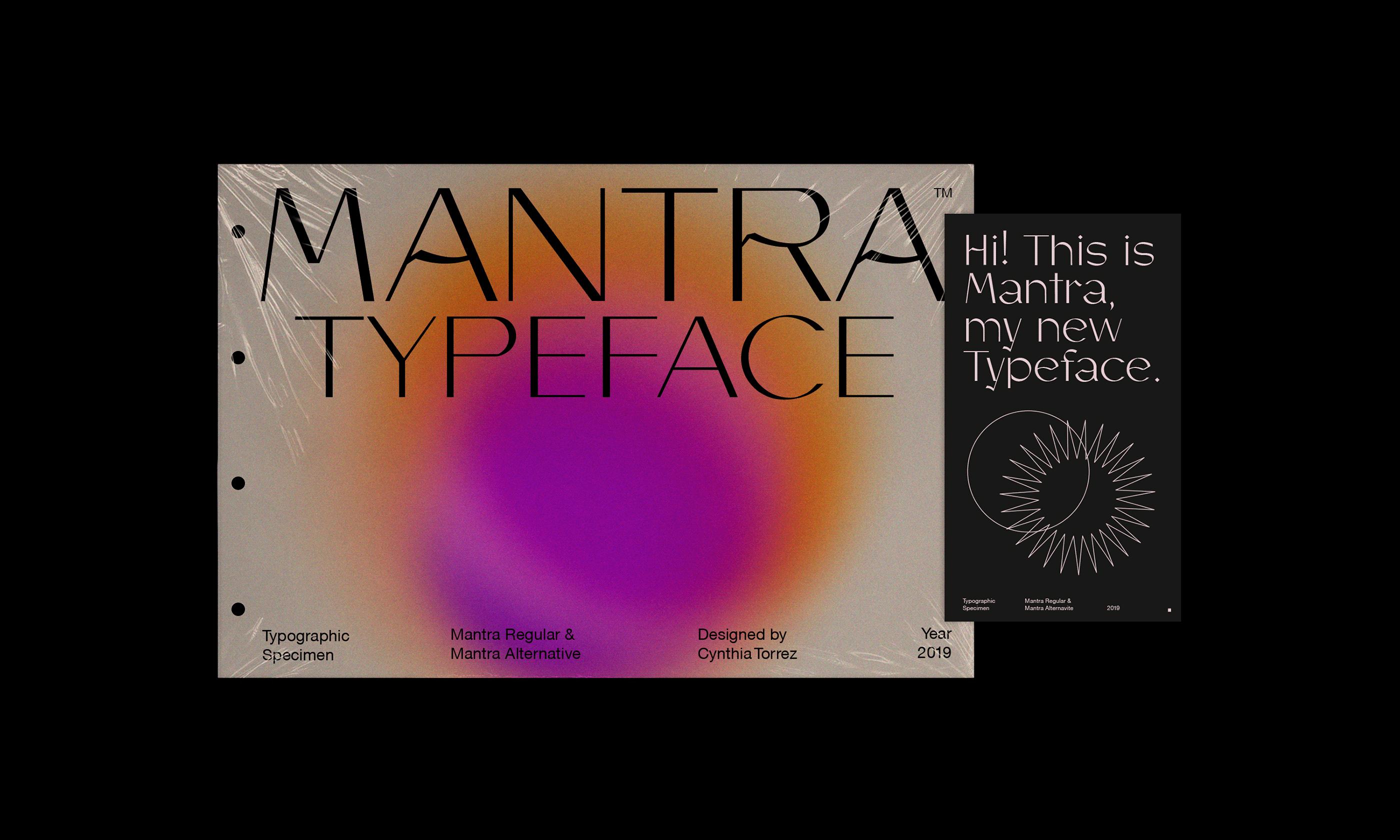 Mantra font 2020