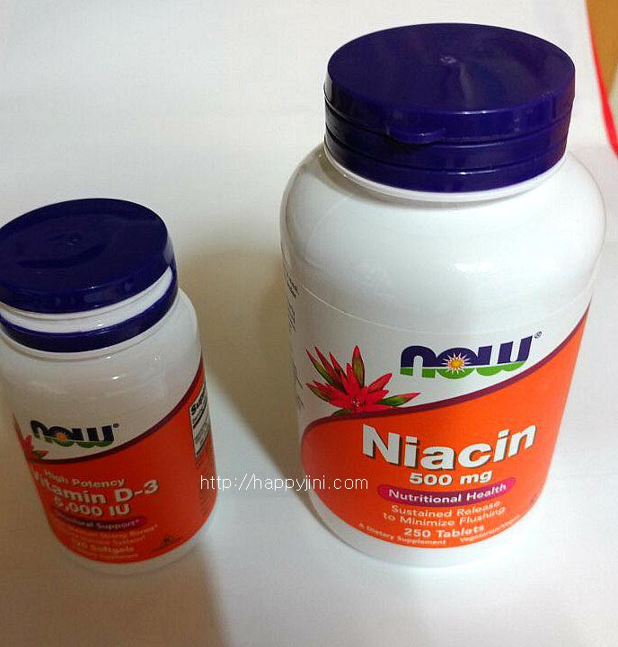 비타민 D는 무엇일까요? 비타민 D 효능과 부작용 및 권장량 /나우푸드 비타민 D-3/ 니아신 / 관절 건강1