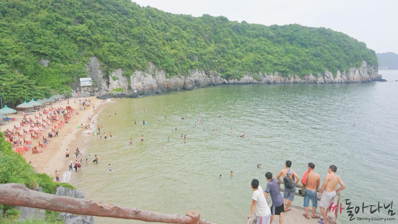 베트남 깟바(Cat ba) 해변