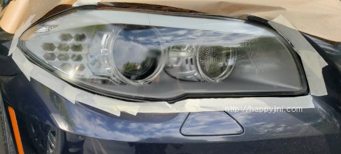 운전자의 눈이 되어주는 자동차 헤드라이트 셀프 복원 [뿌옇게 변한 해드라이트 집에서 복원하기!]7