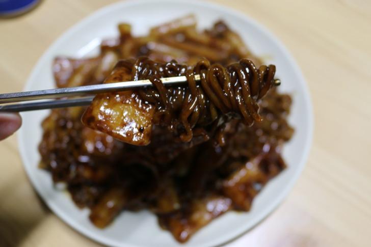 짜파게티맛 국물라볶이 먹어본 후기
