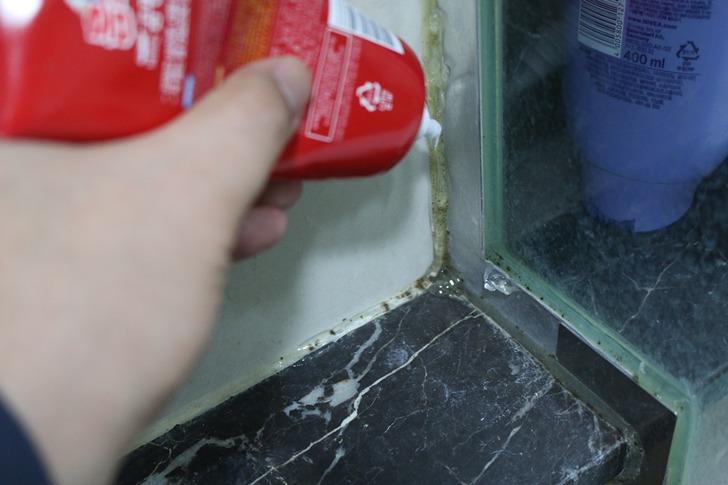 홈스타 바르는 곰팡이 싹(타일, 실리콘 곰팡이 강력제거제) 사용후기