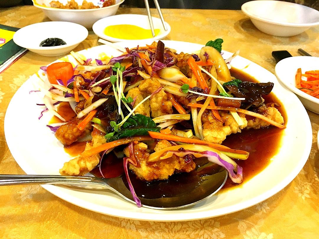 중국집 메뉴 탕수육