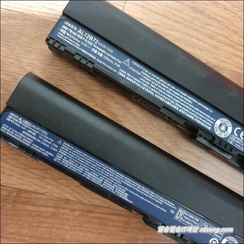 에이서 노트북 배터리 구입 교체 v5-131 AL12B72 호환용 배터리 AL12B32