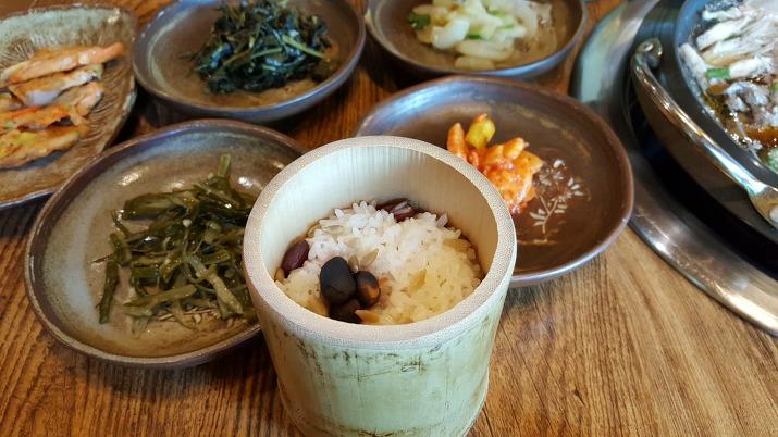 대나무통밥 대통밥