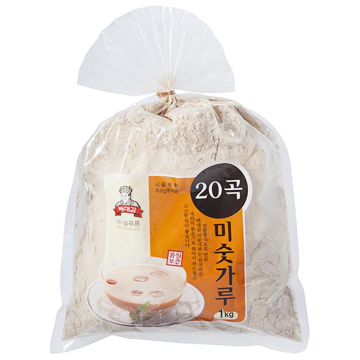 배대감 1kg 20곡 미숫가루