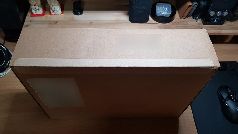 2018 맥북 프로 15인치 박스 윗면