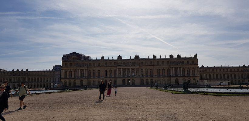 베르사유 궁전 정원 - 궁전