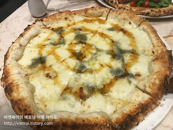 베트남 호치민 화덕 피자 파스타 추천 맛집 피자 포피스(Pizza 4P's) 이용후기 및 메뉴 가격 위치 영업시간 안내