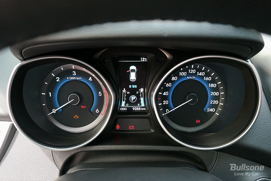 계기판 속도계 자동차 RPM