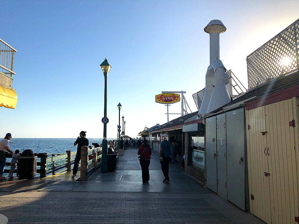 너무나 그리웠던 엘에이 바닷가~레돈도 비치 [ Redondo Beach/LA 여행,맛집 ] 한국횟집