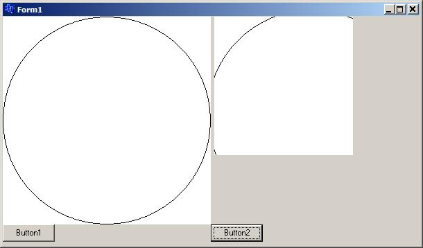 볼랜드 C++ Builder 비트맵 캔버스에 원 그리고 일부 복사 CopyRect