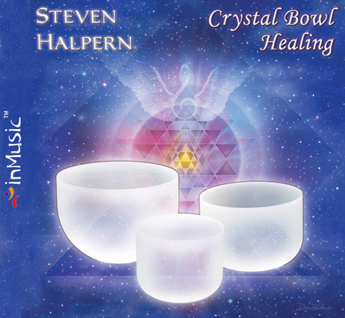 Steven Halpern - Crystal Bowl Healing by inMusic 인뮤직 발매작