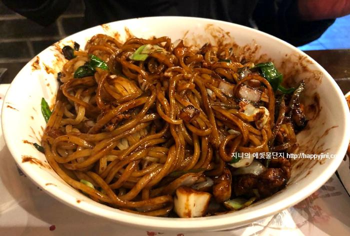 서비스가 인상적이였던 라스베이거스 중국집 '유시앙' [Yuxing Korean Chinese Cuisineㅣ라스베가스 한국식 중국집 맛집]13 짜장면 짬뽕