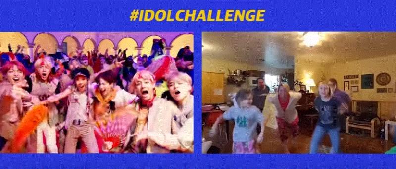 BTS(방탄 소년단) 'IDOL (Feat. Nicki Minaj)' 뮤직비디오가 새로 나왔어요~!  아이돌챌린지 3