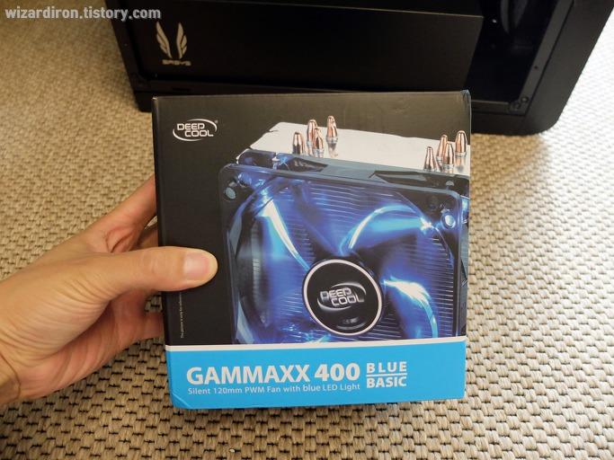 CPU의 기본 쿨러를 GAMMAXX 400으로 교체해 보았습니다3