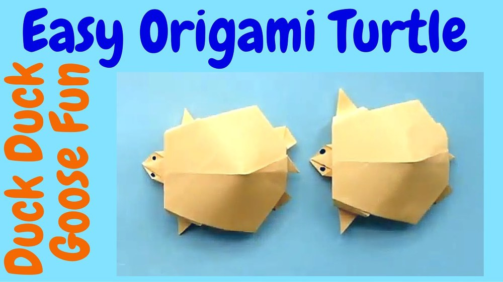 How to Make an Origami Turtle | Origami turtle, Origami easy, Origami | 562x1000