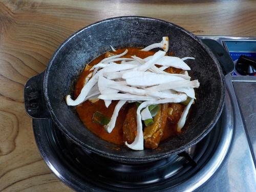 충북제천맛집 두꺼비식당 등갈비찜