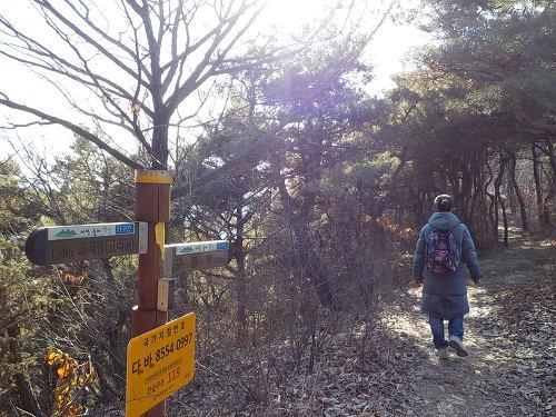 대전 빼울약수터 등산로 구봉산 등산코스 지도