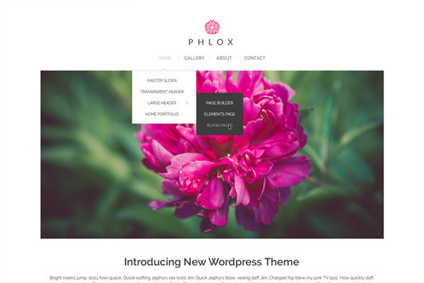 Phlox - Build an Elegant and Stylish Website for Free