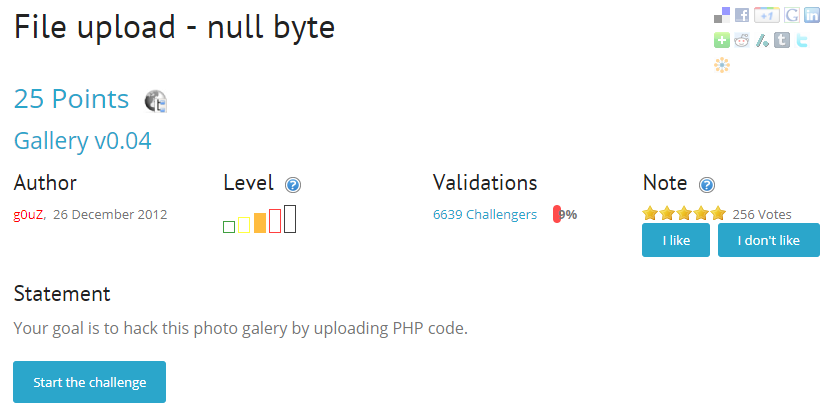 root-me >> File upload - null byte :: It's Gonna Be Alright