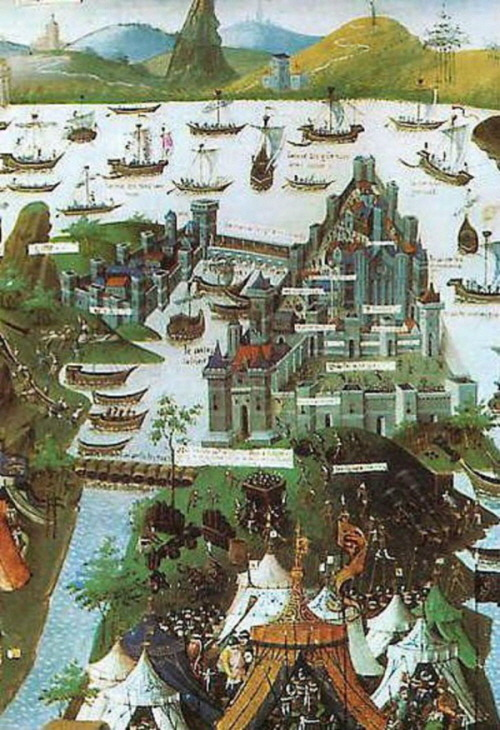 Painting-The-Siege-of-Constantinople