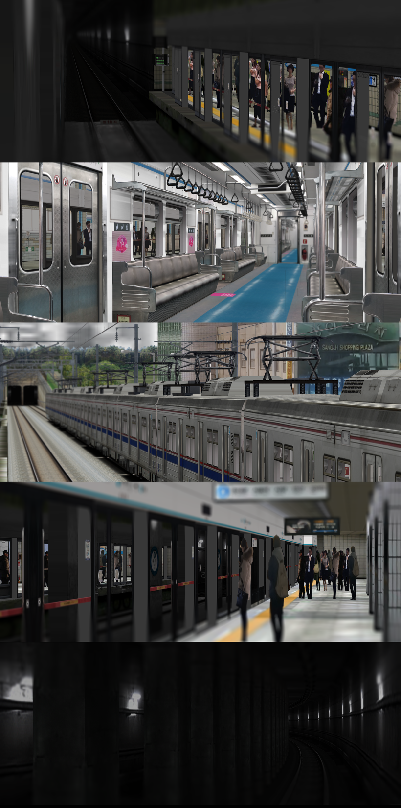 OpenBVE/Hmmsim1, 2] Seoul Subway Line 4(412-416) Download