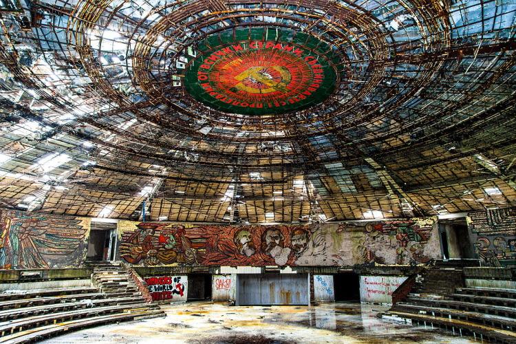 13. abandoned Buzludzha Monument