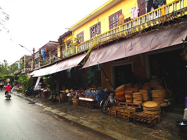 베트남 호이안 시장 사진