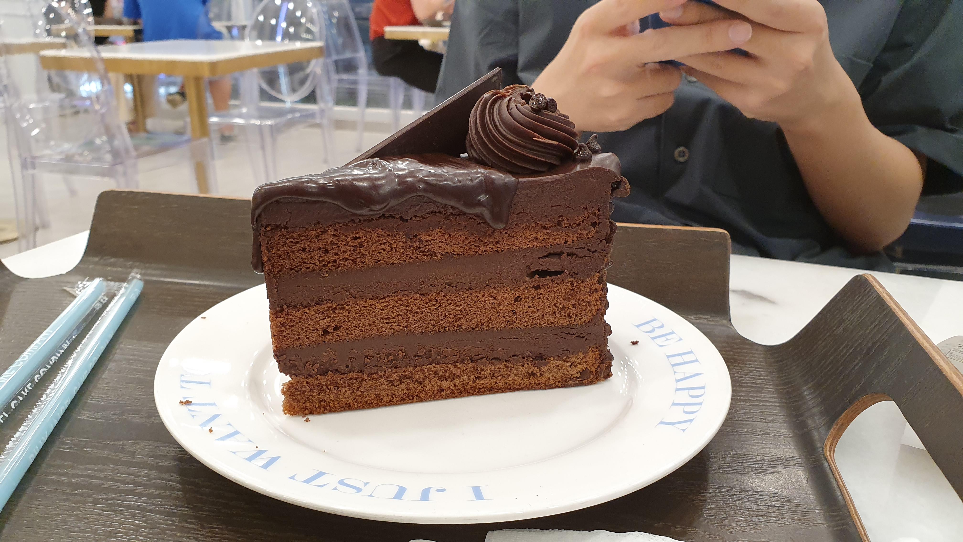 """[디저트] 빌리 엔젤 """"맥시멈 초콜렛 케이크"""" 맛봤슈!"""