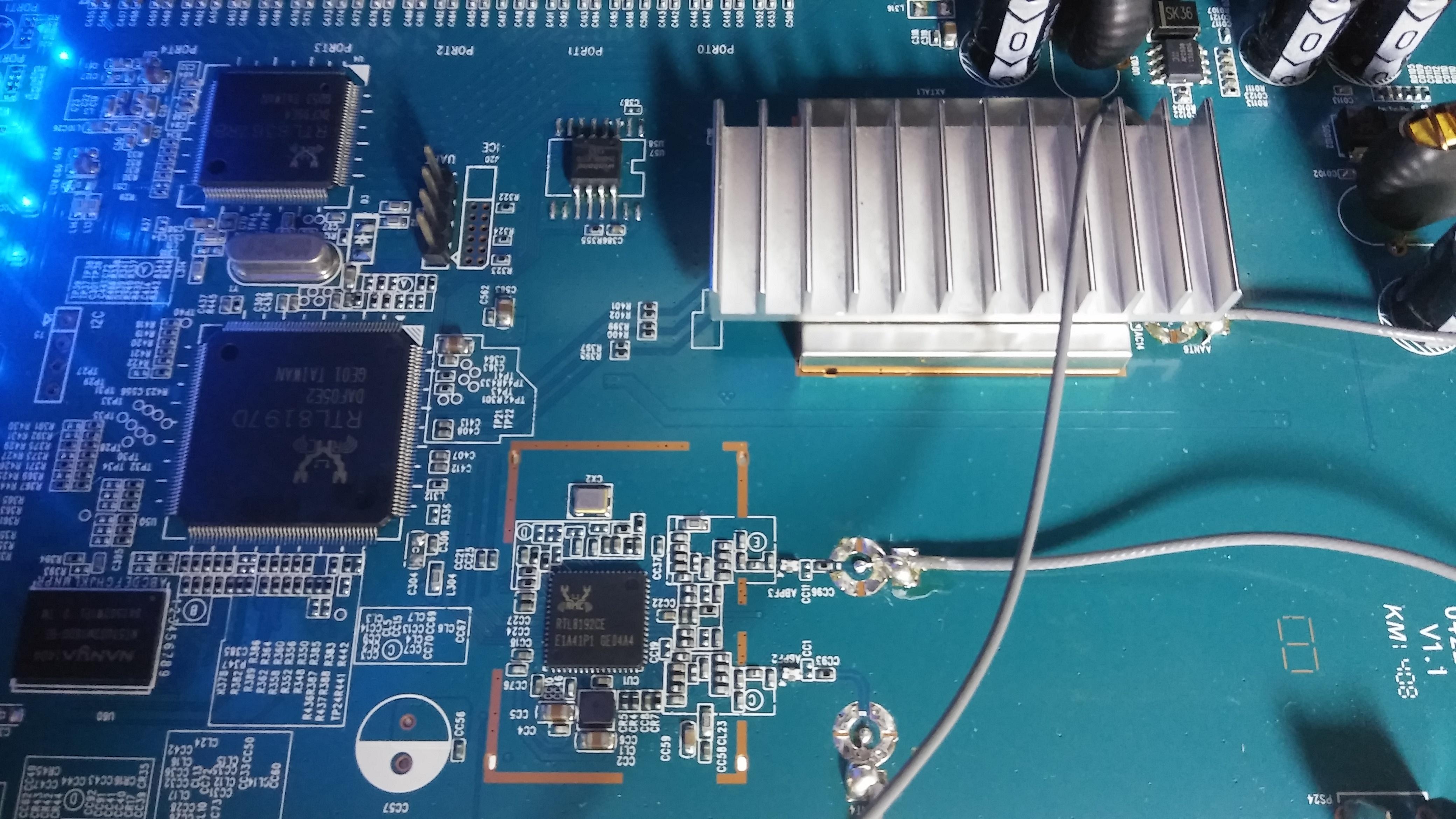 ipTIME A2004NS Plus공유기온도