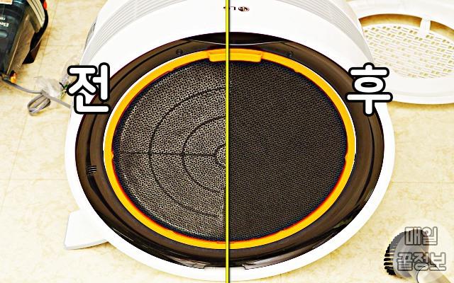 미세먼지 잔뜩 낀 공기청정기 필터 청소 방법 요것만 알면 끝!