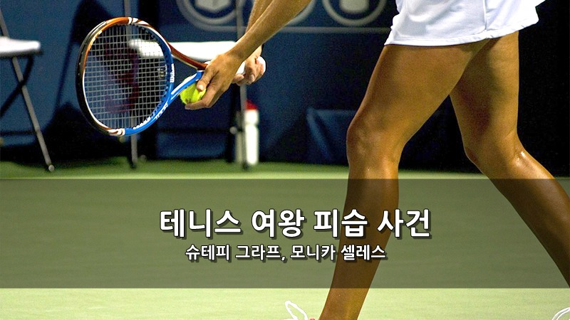 테니스 여왕 슈테피 그라프, 모니카 셀레스 - 피습 사건