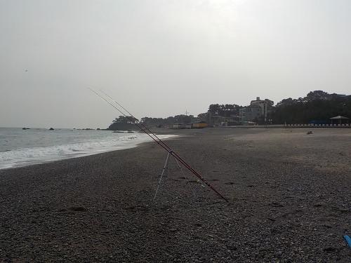 겨울 경주 원투낚시 포인트 오류고아라해변