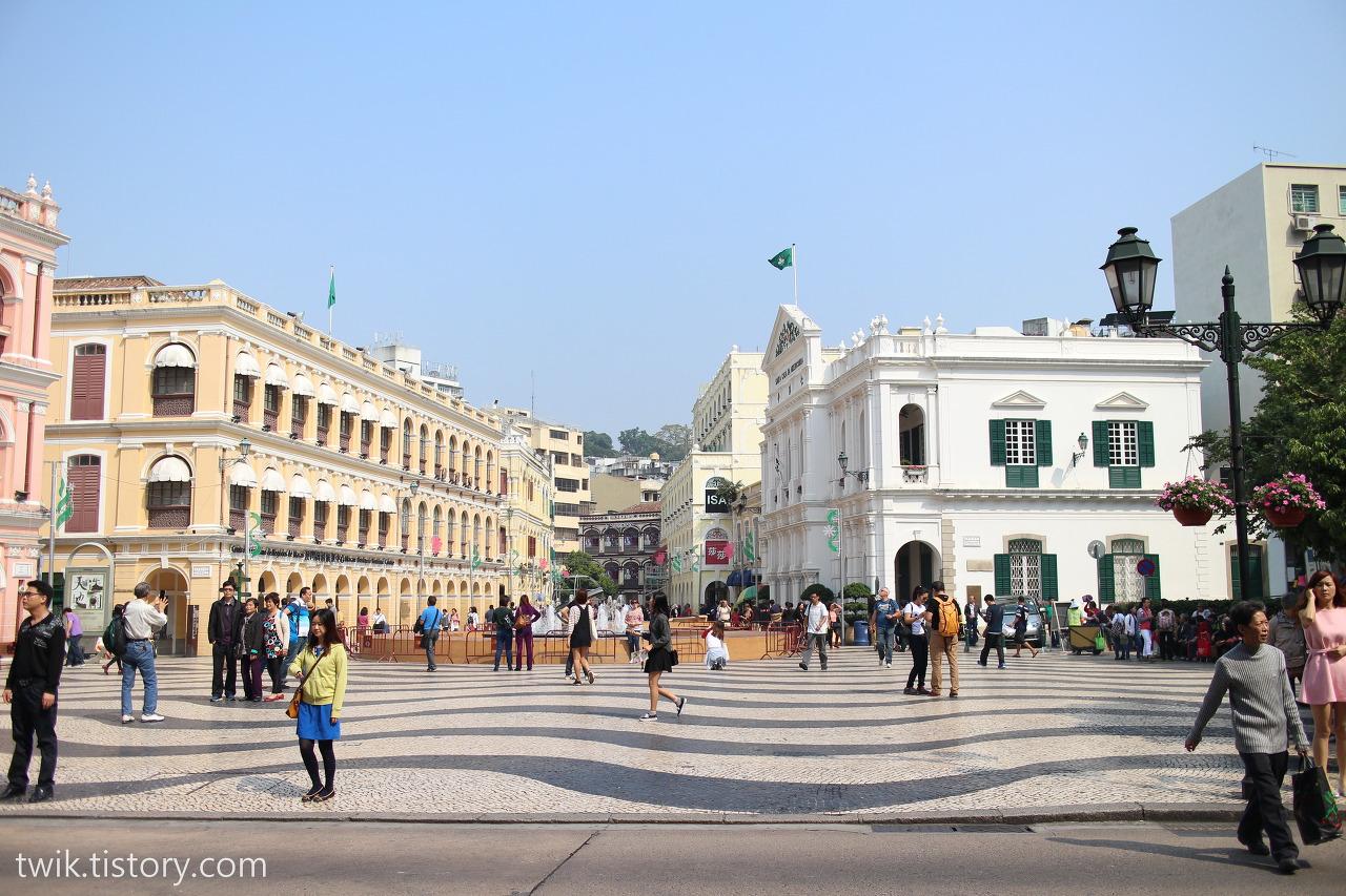 세도나 광장 모습