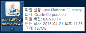 자바 JDK 설치 java se