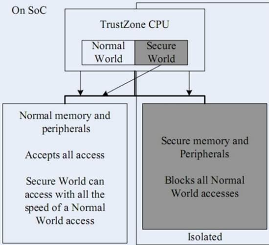 TrustZone Processor
