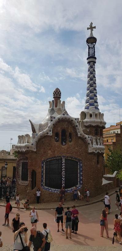 스페인 바르셀로나 가우디투어 구엘공원