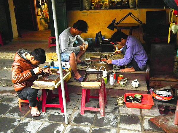 베트남 수공예품 제작