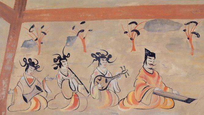 5호16국 시대 위진남북조 그림