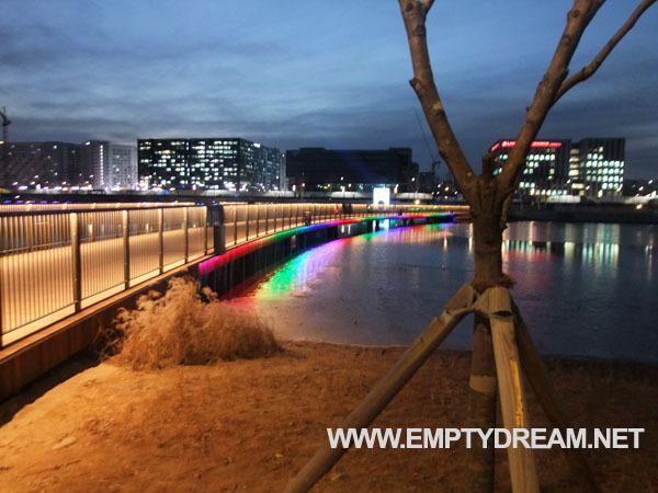 마곡 서울식물원 호수원 야경