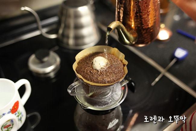 핸드드립 커피 제대로 맛있게 내리는 방법10