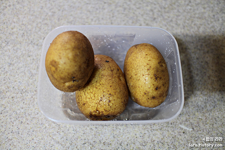 감자채무침_감자요리