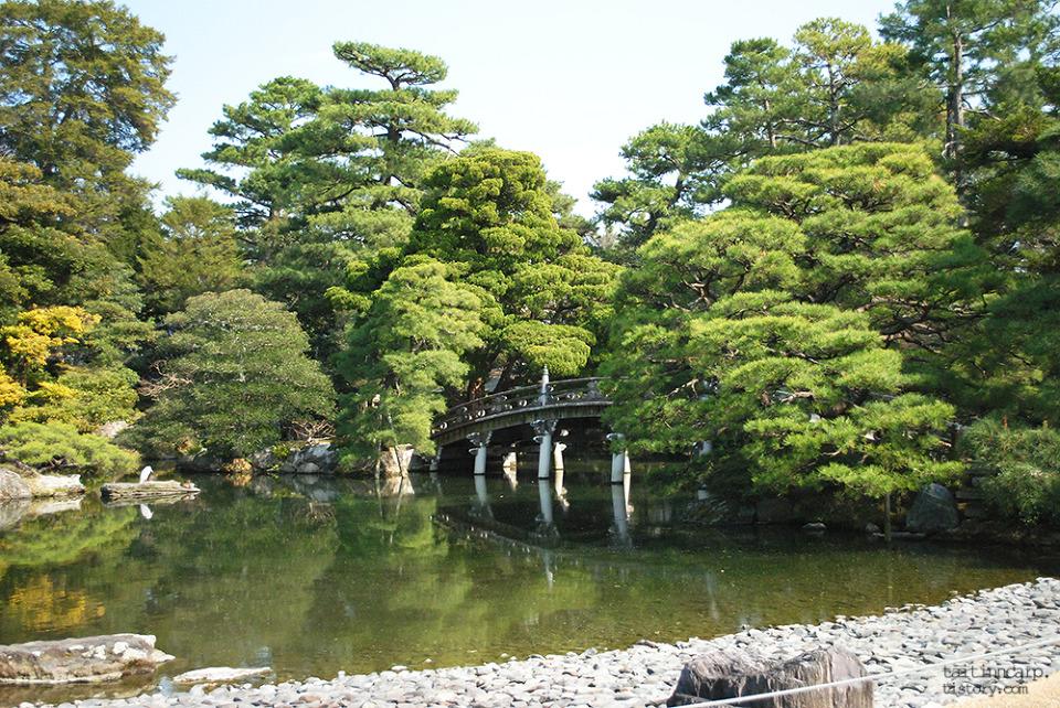 교토고쇼 연못