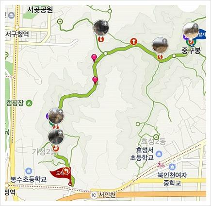 인천 종주길 2코스