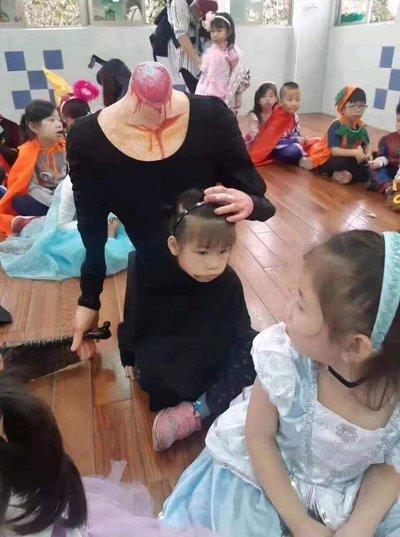 할로윈 유치원 레전드 참사