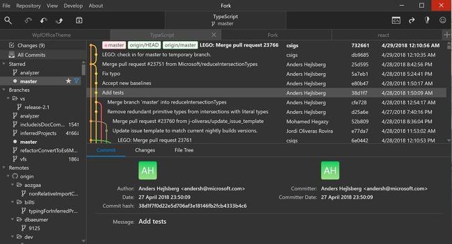 Git Client 클라이언트 프로그램 Fork 추천